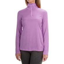 Mountain Hardwear Wicked Shirt - Zip Neck, Long Sleeve (For Women) in Gumdrop - Closeouts