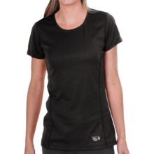 Mountain Hardwear Wicked Sick T-Shirt - Short Sleeve (For Women) in Black - Closeouts