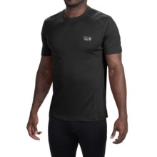 Mountain Hardwear Wicked T-Shirt - Short Sleeve (For Men) in Black - Closeouts
