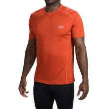 Mountain Hardwear Wicked T-Shirt - Short Sleeve (For Men) in Flame - Closeouts