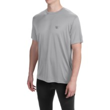 Mountain Hardwear Wicked T-Shirt - Short Sleeve (For Men) in Grey Ice - Closeouts