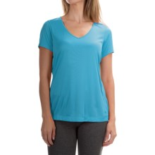 Mountain Hardwear Wicked T-Shirt - Short Sleeve (For Women) in Atoll - Closeouts