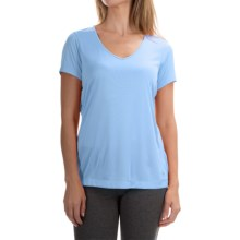 Mountain Hardwear Wicked T-Shirt - Short Sleeve (For Women) in Frosted Blue - Closeouts