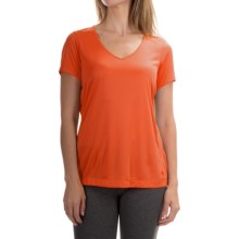 Mountain Hardwear Wicked T-Shirt - Short Sleeve (For Women) in Navel Orange - Closeouts
