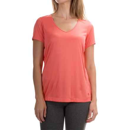 Mountain Hardwear Wicked T-Shirt - Short Sleeve (For Women) in Paradise Pink - Closeouts