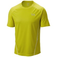 Mountain Hardwear WickedCool T-Shirt - UPF 15, Cool.Q ZERO, Short Sleeve (For Men) in Ginkgo - Closeouts