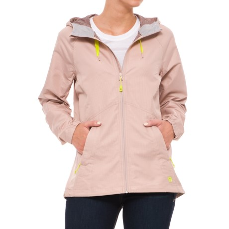 Mountain Hardwear Wind Activa Hooded Jacket (For Women) in Suave Mauve