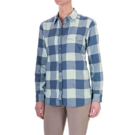 Mountain Hardwear Winter Bridger Tunic Shirt - Long Sleeve (For Women) in Gossamer Blue - Closeouts