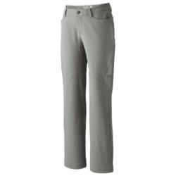Mountain Hardwear Winter Wander Pants - UPF 50, Stretch (For Women) in Titanium