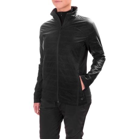 Mountain Hardwear WinterActive Hybrid Jacket - Insulated (For Women) in Black