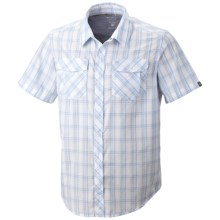 Mountain Hardwear Yohan Shirt - Snap Front, Short Sleeve (For Men) in White - Closeouts