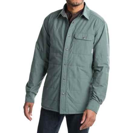 Mountain Hardwear Yuba Pass Shacket - Fleece Lined (For Men) in Thunderhead Grey - Closeouts