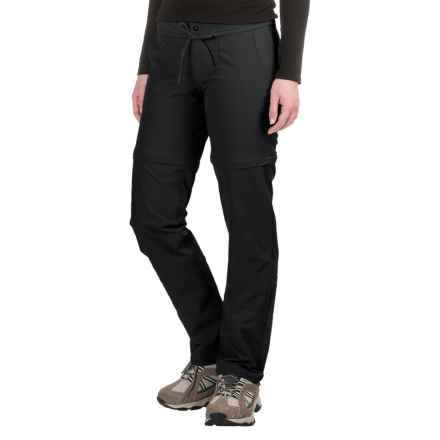Mountain Hardwear Yuma Convertible Pants - UPF 50 (For Women) in Black - Closeouts
