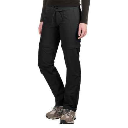 Mountain Hardwear Yuma Convertible Pants - UPF 50 (For Women) in Black - Closeouts