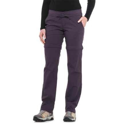 Mountain Hardwear Yuma Convertible Pants - UPF 50 (For Women) in Blurple - Closeouts