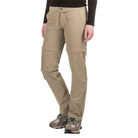 Mountain Hardwear Yuma Convertible Pants - UPF 50 (For Women) in Khaki - Closeouts