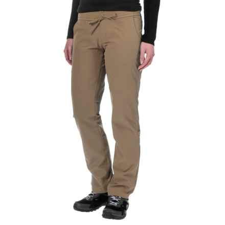 Mountain Hardwear Yuma Pants - UPF 50 (For Women) in Khaki - Closeouts