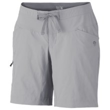 Mountain Hardwear Yuma Shorts - UPF 50 (For Women) in Steam - Closeouts