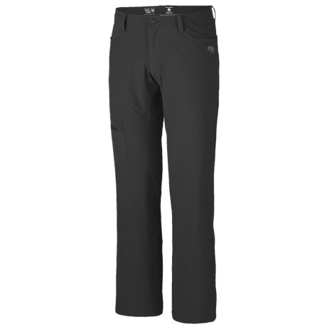 Mountain Hardwear Yumalino Pants - UPF 50, Fleece Lining (For Men) in Black