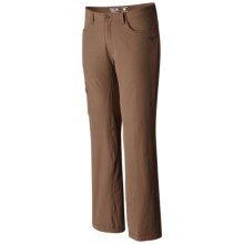 Mountain Hardwear Yumalino Pants - UPF 50, Fleece Lining (For Men) in Saddle - Closeouts