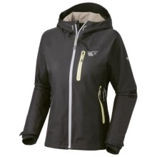 Mountain Hardwear Zahra Dry.Q Elite Jacket - Waterproof, Soft Shell (For Women) in Black - Closeouts