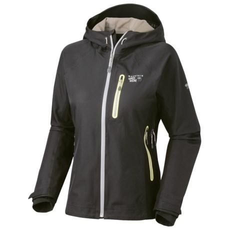 Mountain Hardwear Zahra Dry.Q Elite Soft Shell Jacket - Waterproof (For Women) in Black
