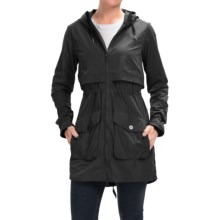 Mountain Hardwear Zenell Trench Coat (For Women) in Black - Closeouts