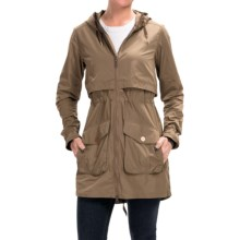 Mountain Hardwear Zenell Trench Coat (For Women) in Saddle - Closeouts