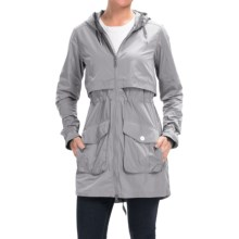 Mountain Hardwear Zenell Trench Coat (For Women) in Steam - Closeouts