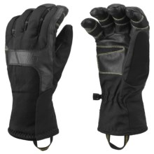 Mountain Hardwear Zeus Gloves - Waterproof (For Men) in Black - Closeouts
