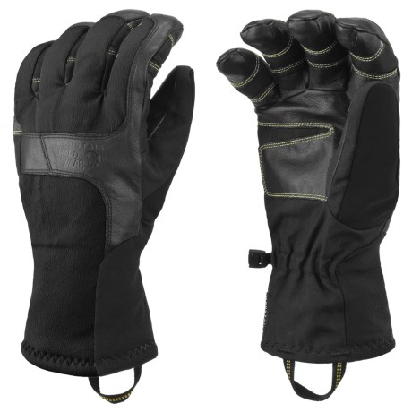 Mountain Hardwear Zeus Gloves - Waterproof (For Men) in Black