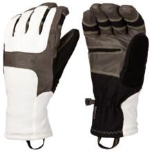 Mountain Hardwear Zeus Gloves - Waterproof (For Men) in Sea Salt - Closeouts