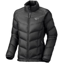 Mountain Hardwear Zonal Down Jacket - 850 Fill Power (For Women) in Black/Black - Closeouts