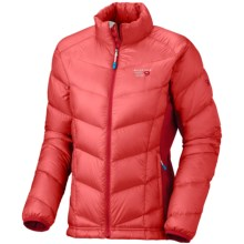 Mountain Hardwear Zonal Down Jacket - 850 Fill Power (For Women) in Poppy/Ruby - Closeouts