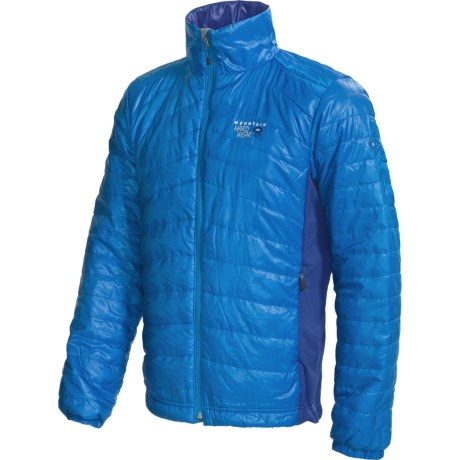 Mountain Hardwear Zonal Jacket - Insulated (For Men) in Blue Horizon/Blue Chip
