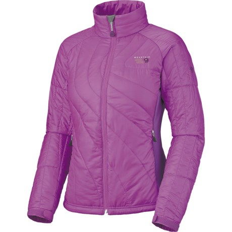 Mountain Hardwear Zonal Jacket - Insulated (For Women) in Dewberry/Iris Glow