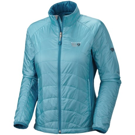Mountain Hardwear Zonal Jacket - Insulated (For Women) in Dragonfly/Oxide Blue