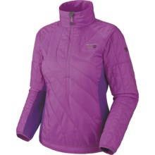 Mountain Hardwear Zonal Pullover Jacket - Insulated (For Women) in Dewberry/Iris Glow - Closeouts