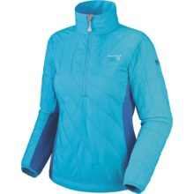 Mountain Hardwear Zonal Pullover Jacket - Insulated (For Women) in Oasis Blue/Jewel - Closeouts