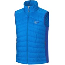 Mountain Hardwear Zonal Vest - Insulated (For Men) in Blue Horizon/Blue Chip - Closeouts