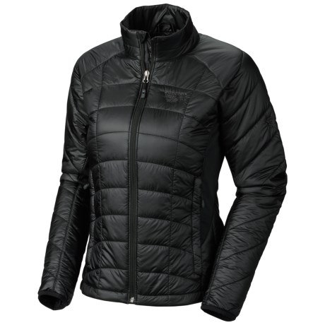 Mountain Hardwear Zonic Jacket - Insulated (For Women) in Black/Black