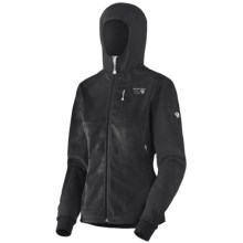 Mountain Hardwear Zoria AirShield Core Jacket - Fleece (For Women) in Black/Black - Closeouts