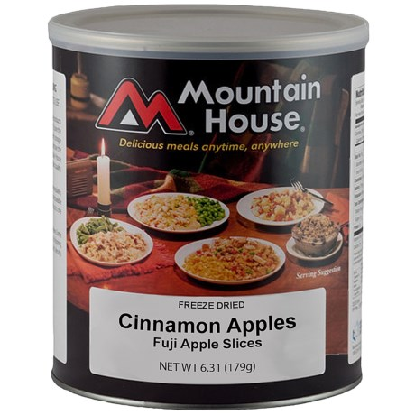 photo: Mountain House Cinnamon Apple Slices