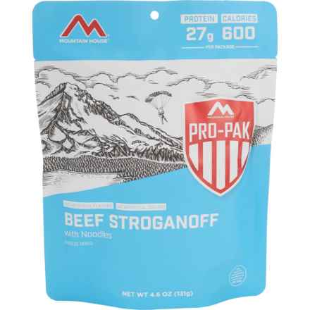 Mountain House Beef Stroganoff with Noodles Pro-Pak Meal - Single Serving