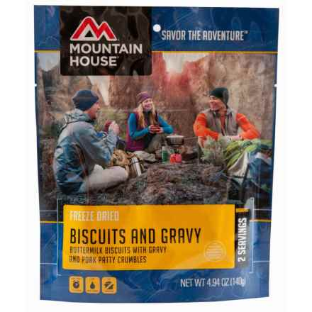 Mountain House Biscuits and Gravy in See Photo - Closeouts