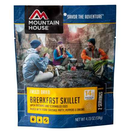 Mountain House Freeze-Dried Breakfast Skillet Meal - 2 Servings in See Photo - Closeouts