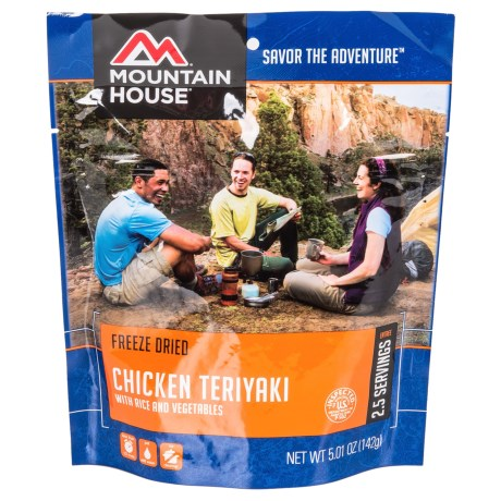 Mountain House Freeze-Dried Chicken Teriyaki Meal - 2.5 Servings in See Photo