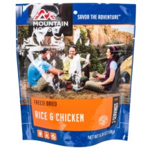 Mountain House Freeze-Dried Rice and Chicken Meal - 3-Person in See Photo - Closeouts