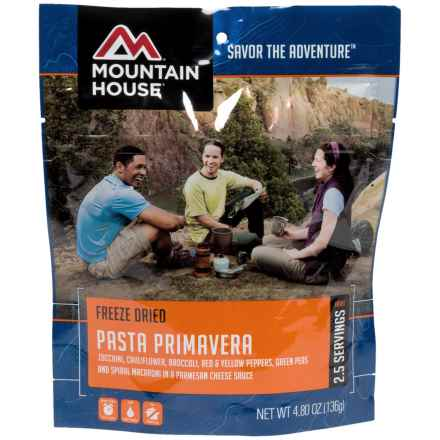 Mountain House Pasta Primavera - 2-Person in See Photo - Closeouts