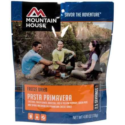 Mountain House Pasta Primavera - 2-Person in See Photo - Closeouts